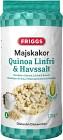 Friggs Majskakor Quinoa, Linfrö & Havssalt 130 g