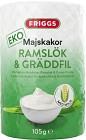 Friggs Majskakor Ramslök & Gräddfil 105 g