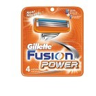 Gillette Fusion Power rakblad 4 st