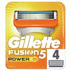 Gillette Fusion5 Power rakblad 4 st