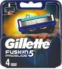 Gillette Fusion5 ProGlide rakblad 4 st