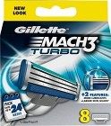 Gillette Mach3 Turbo rakblad 8 st