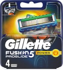 Gillette Fusion5 ProGlide Power rakblad 4 st