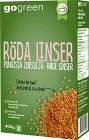 GoGreen Röda Linser 400 g