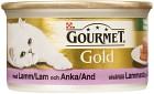 Gourmet Gold Lamm & Anka 85 g