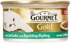Gourmet Gold Lax & Kyckling 85 g