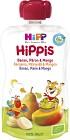 HiPPis Smoothie Banan Päron & Mango 4M 100 g
