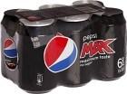 Pepsi Max Burk 6x33 cl inkl. pant