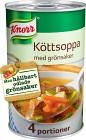 Knorr Köttsoppa med Grönsaker 540 g / 1 L