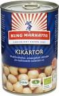 Kung Markatta Kikärtor på Burk 400 g