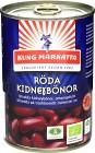 Kung Markatta Röda Kidneybönor på Burk 400 g