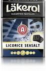 Läkerol Licorice Seasalt 75 g
