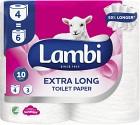 Lambi Extra Long Toalettpapper 4 p