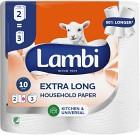 Lambi Hushållspapper Super Long 2 p