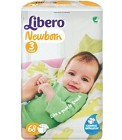 Libero Newborn Blöjor Storlek 3, 68 st