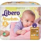 Libero Newborn Blöjor Storlek 2, 36 st