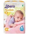 Libero Newborn Blöjor Storlek 2, 88 st