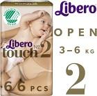Libero Touch 2 (3-6 kg) 66 st