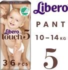 Libero Touch 5 (10-14 kg) 36 st