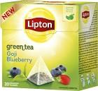 Lipton Grönt Te Blåbär & Goji Pyramid 20 p