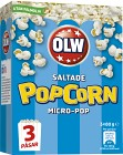 OLW Micropopcorn Original 3x80 g