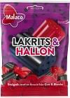 Malaco Lakrits & Hallon 70 g