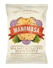 ManoMasa Sea Salt & Cracked Black Pepper 160 g