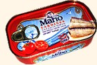 Mario Sardiner i Tomatsås 125 g