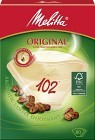 Melitta Kaffefilter Original 102 Oblekta 80 st