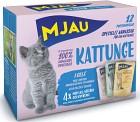 Mjau Multibox Kattunge 12 p