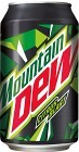 Mountain Dew 33 cl inkl. Pant