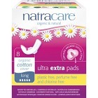 Natracare Binda Ultra Extra Long med vingar 8 st