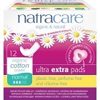 Natracare Binda Ultra Extra Normal med vingar 12 st