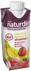Naturdiet Laktosfri Smoothie Banana & Strawberry 330 ml