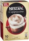 Nescafé Snabbkaffe Cappuccino 10 p