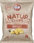 OLW Naturchips Havssalt 180 g