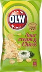OLW Sourcream & Chives 275 g