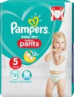 Pampers Baby-Dry Nappy Pants S5 12-17 kg 21 st