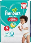 Pampers Baby-Dry Nappy Pants S6 15+ kg 19 st