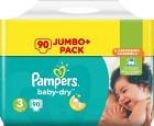 Pampers Baby-Dry S3 5-9kg 90 st