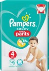 Pampers Baby-Dry Nappy Pants S4 9-15kg 40 st