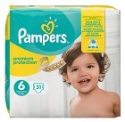 Pampers Premium Protection S6 15+kg 31 st