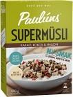 Pauluns Supermüsli Kakao, Kokos & Hallon 500 g