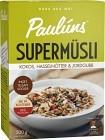 Paulúns Supermüsli Kokos, Hasselnötter & Jordgubb 500 g