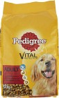 Pedigree Adult Vital Protection Torrfoder Oxkött 12 kg