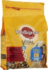 Pedigree Adult Vital Protection Torrfoder Oxkött 3 kg