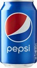 Pepsi Burk 33 cl inkl. pant