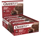 Questbar Chocolate Brownie 12 st