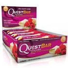 Questbar White Chocolate Raspberry 12 st