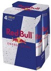 Red Bull Energy Drink 4x25 cl inkl. Pant
